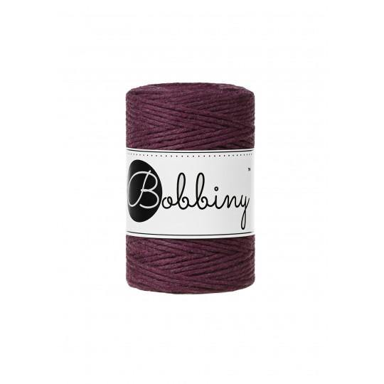 Blackberry 1.5mm, 100m Bobbiny Macramé Cord - The Thread Shop