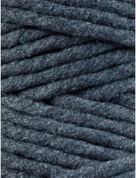 Charcoal 5mm, 100m Bobbiny Macramé Cord - The Thread Shop