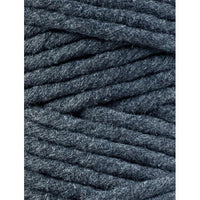 Charcoal 5mm, 20m Bobbiny Macramé Cord - The Thread Shop