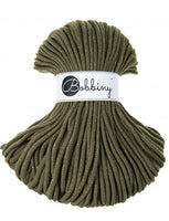 Golden Avocado 5mm, 100m Bobbiny Braided Cord - The Thread Shop