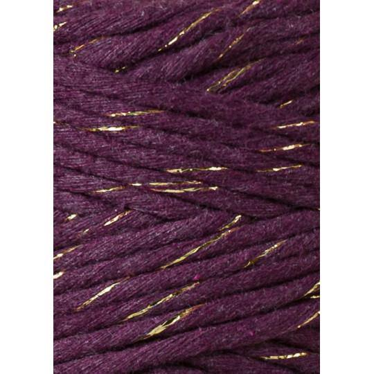 Golden Blackberry 3mm, 20m Bobbiny Macramé Cord - The Thread Shop