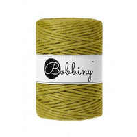 Golden Kiwi Limited Edition 5mm, 100m Bobbiny Macramé Cord - The Thread Shop