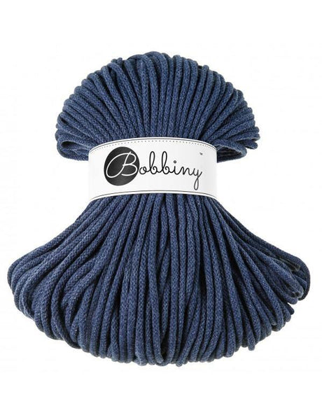 Jeans 5mm, 100m Bobbiny Braided Cord - The Thread Shop