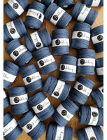 Jeans 5mm, 100m Bobbiny Macramé Cord - The Thread Shop