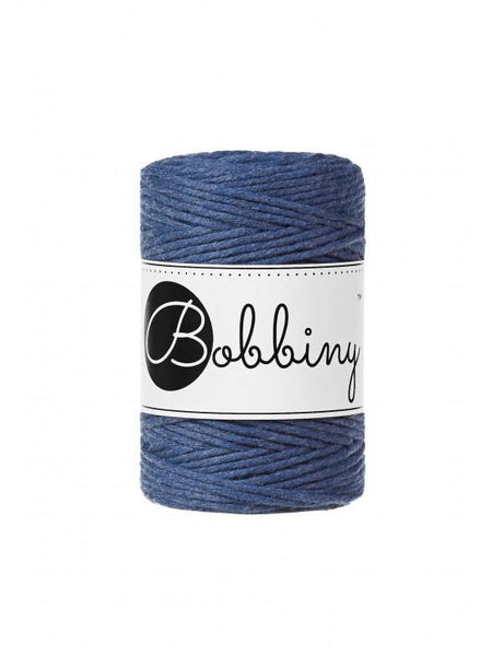 Jeans 1.5mm, 100m Bobbiny Macramé Cord - The Thread Shop
