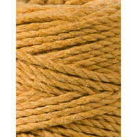 Mustard 3PLY 3mm, 100m Bobbiny Macramé Cord - The Thread Shop