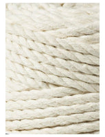 Natural 3PLY 5mm, 100m Bobbiny Macramé Cord - The Thread Shop