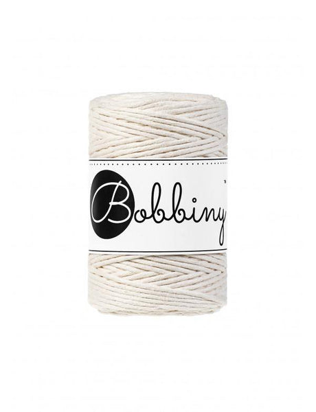 Natural 1.5mm, 100m Bobbiny Macramé Cord - The Thread Shop