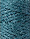 Peacock Blue 5mm, 100m Bobbiny Macramé Cord - The Thread Shop