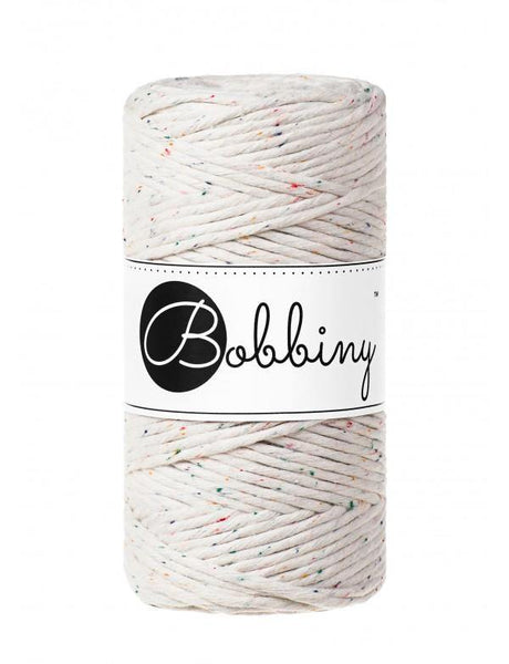 Rainbow Dust 3mm, 100m Bobbiny Macramé Cord - The Thread Shop