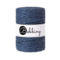 Silvery Jeans 5mm, 20m Bobbiny Macramé Cord - The Thread Shop