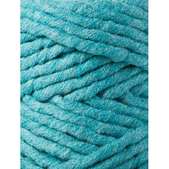 Teal 5mm, 20m Bobbiny Macramé Cord - The Thread Shop