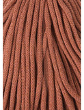 Terracotta 5mm, 100m Bobbiny Braided Cord - The Thread Shop