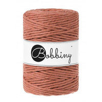 Terracotta 5mm, 20m Bobbiny Macramé Cord - The Thread Shop