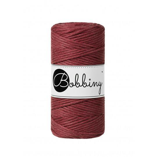 Wild Rose 3mm, 100m Bobbiny Macramé Cord - The Thread Shop