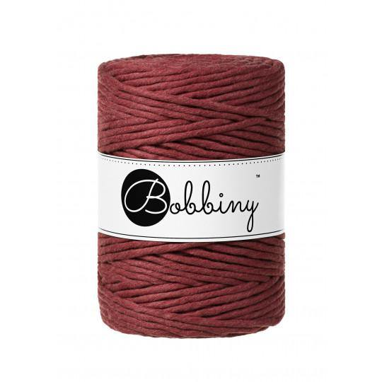 Wild Rose 5mm, 100m Bobbiny Macramé Cord - The Thread Shop