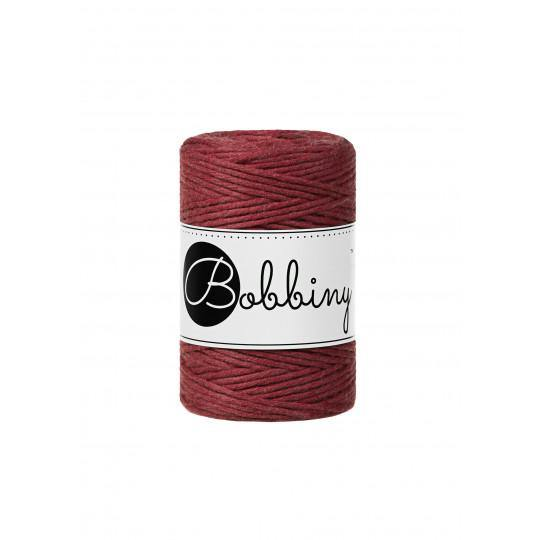 Wild Rose 1.5mm, 100m Bobbiny Macramé Cord - The Thread Shop