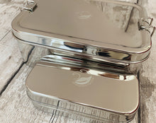 Load image into Gallery viewer, Large Stainless Steel Lunchbox with Snack Box