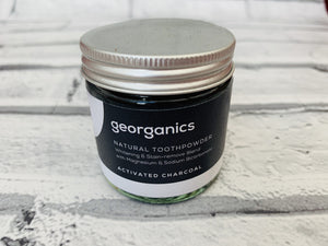 Toothpaste Powder - Activated Charcoal (60ml/120ml)