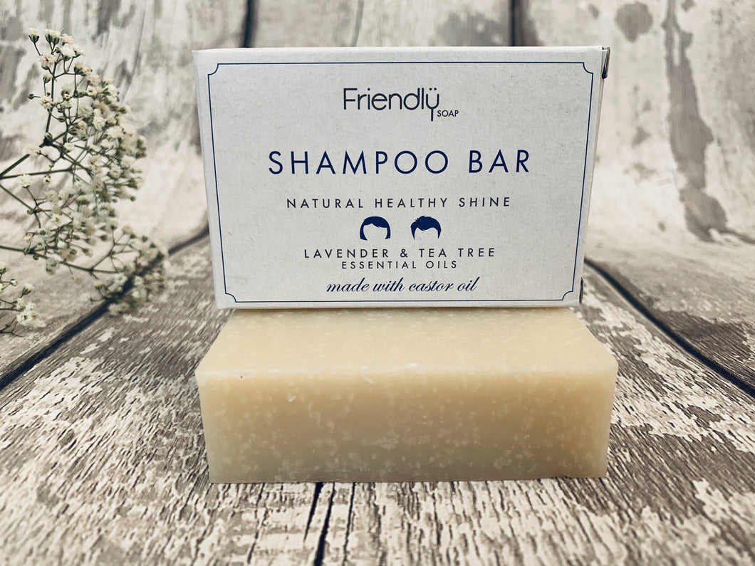 Lavender and Tea Tree Natural Shampoo Bar
