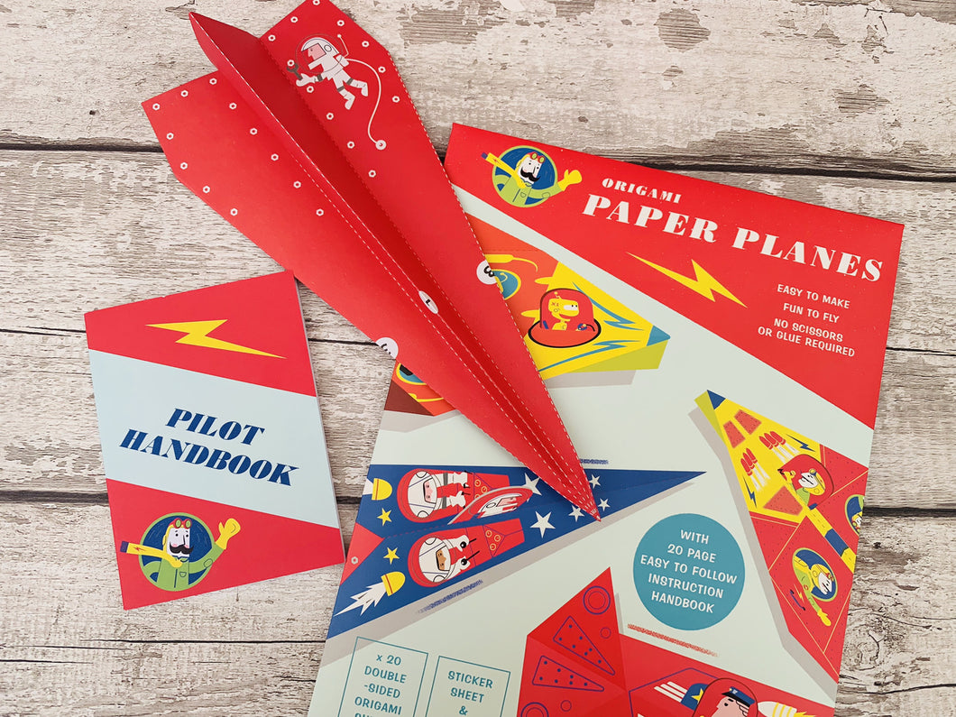 Origami Paper Planes Kit