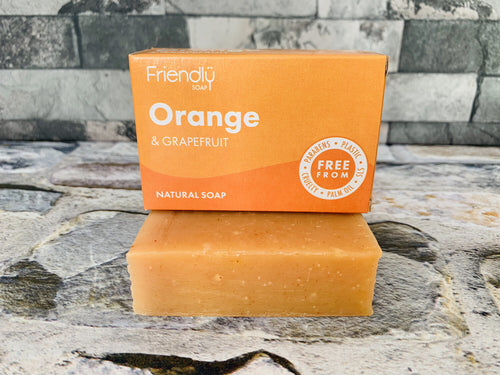 Orange and Grapefruit Bath Soap