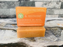 Load image into Gallery viewer, Orange and Grapefruit Bath Soap