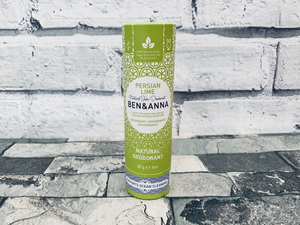 Natural Deodorant - Persian Lime