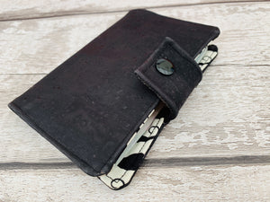 Moustache Design Cork Leather Passport Holder