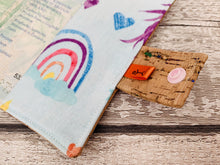 Load image into Gallery viewer, Unicorn Rainbow Cork Leather Passport Holder