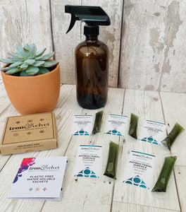 Plastic Free - Kitchen Antibacterial Spray (Coconut and Lime)