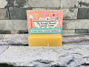 Printed Peanut 3-in-1 Travel and Natural Shampoo Bar
