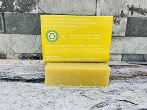 Tea Tree and Turmeric Bath Soap - Friendly Soap