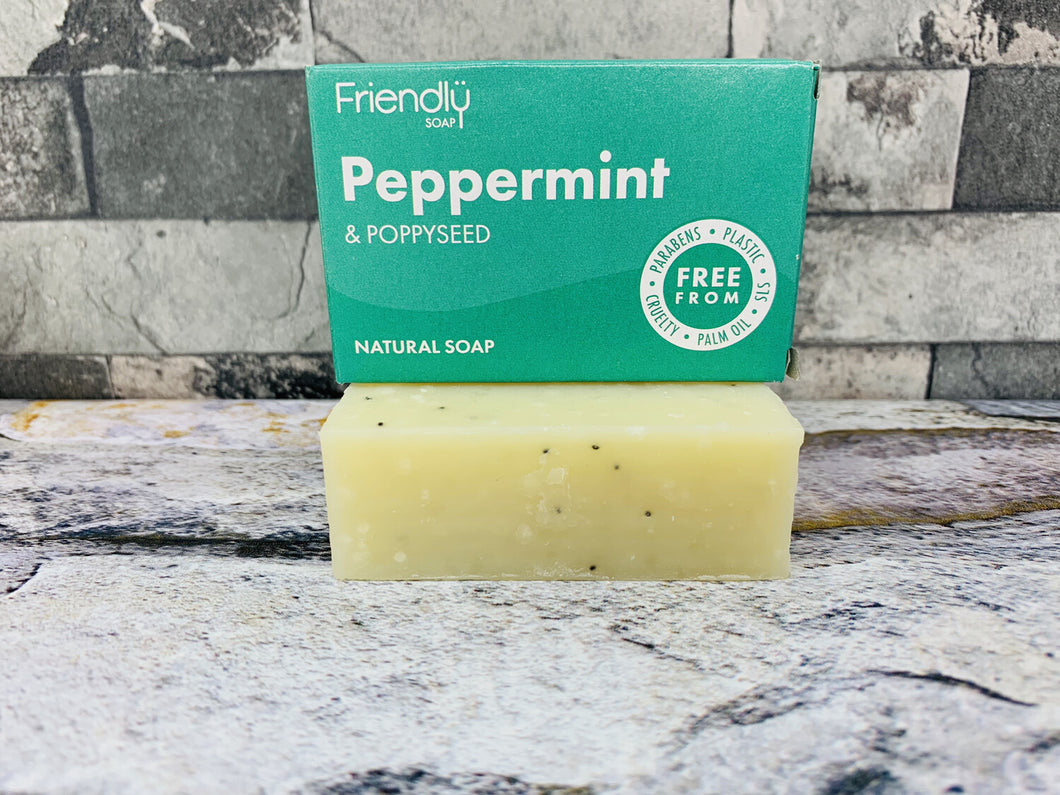 Peppermint and Poppy Bath Soap