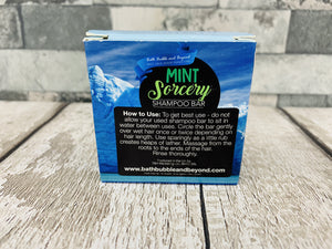 Mint Sorcery Shampoo Bar - All Hair Types