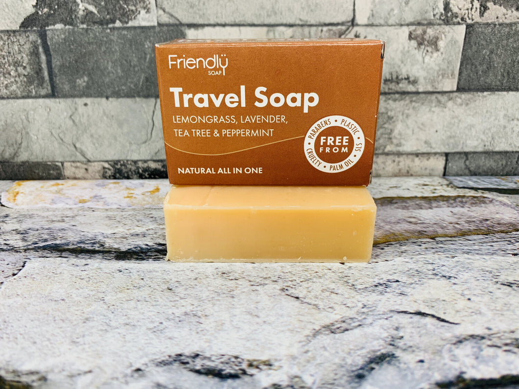 All-in-One Travel and Natural Shampoo Bar