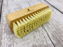 Load image into Gallery viewer, Natural Bamboo Nail Brush with Plant Based Bristles