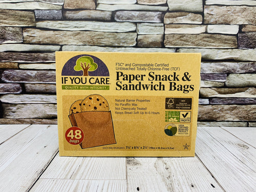 Paper Snack and Sandwich Bags (48 bags)