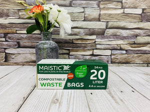 Home Compostable Bin Bags (20 litres)