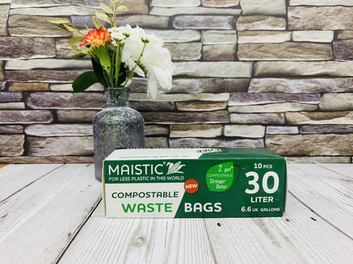 Home Compostable Bin Bags (30 litres)