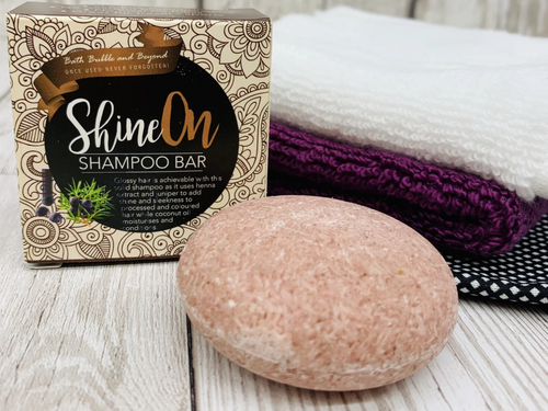 'Shine On' Shampoo Bar for Dry/Coloured Hair