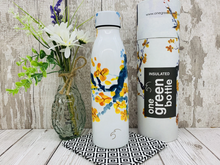 Load image into Gallery viewer, 500ml Insulated Bottle for Hot/Cold Drinks - Peach Blossom