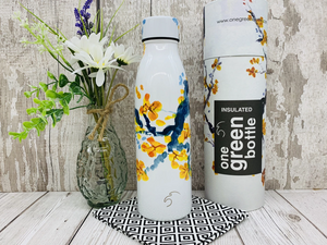 500ml Insulated Bottle for Hot/Cold Drinks - Peach Blossom