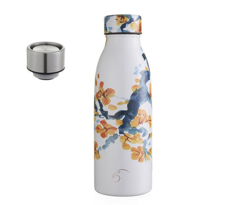 500ml Vacuum Insulated Bottle - Peach Blossom