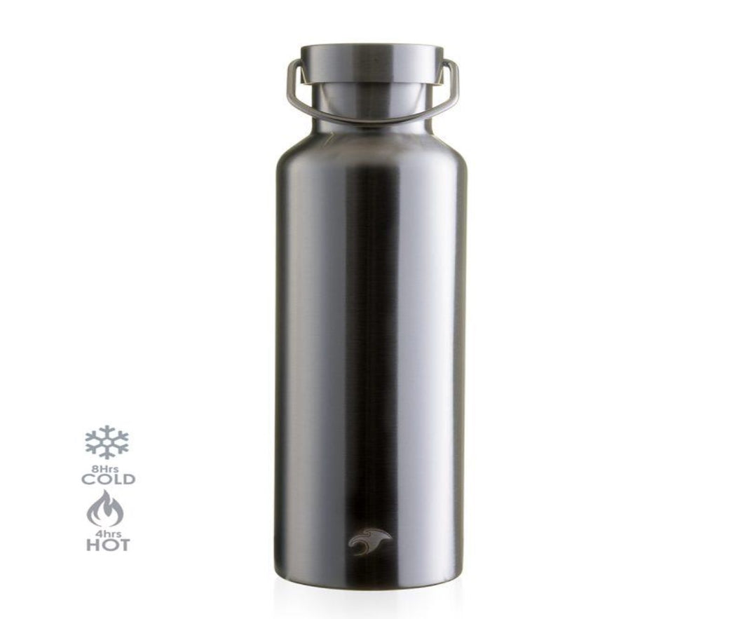 600ml Vacuum Insulated Bottle - Classic Nude Stainless Steel