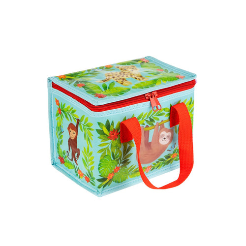 Recycled Foil Insulated Lunch Box Bag - Safari Animal Print