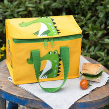 Load image into Gallery viewer, Recycled Lunch bag - Crocodile