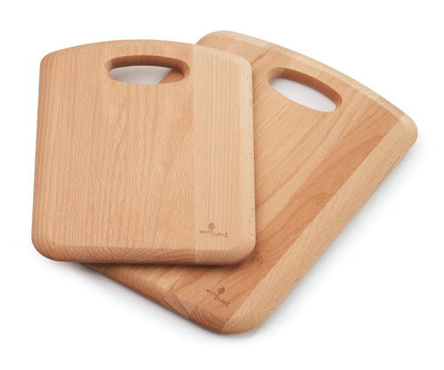 Wooden Chopping Board with Handle (Small / Large)