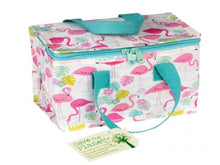Load image into Gallery viewer, Recycled Lunch bag - Flamingo