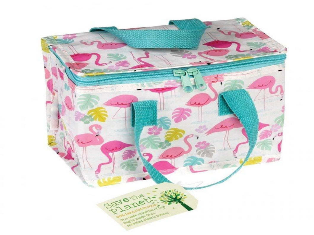 Recycled Lunch bag - Flamingo